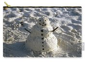 Florida Snowman Carry-all Pouch
