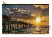 Florida Sunrise At Dania Beach Pier Carry-all Pouch