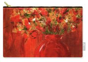 Florists Red Carry-all Pouch