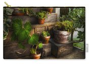 Flower - Plant - A Summers Soak  Carry-all Pouch by Mike Savad