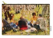 Flower - Sakura - Afternoon Picnic Carry-all Pouch