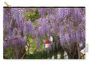 Flower - Wisteria - A House Of My Own Carry-all Pouch by Mike Savad