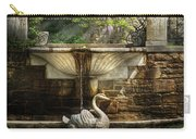 Flower - Wisteria - Fountain Carry-all Pouch