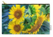 Flower #40 Carry-all Pouch