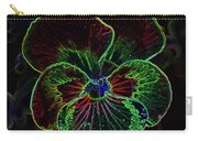 Flower 5 - Glowing Edges Carry-all Pouch