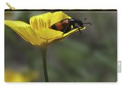 Flower And Bug Carry-all Pouch