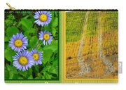 Flower And Fields Carry-all Pouch
