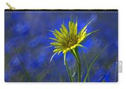 Flower And Flax Carry-all Pouch