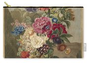 Flower Arrangement, Anthonie Van Den Bos, 1778 - 1838 B Carry-all Pouch