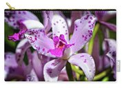 Flower Art - Intimate Orchid 4 - Sharon Cummings Carry-all Pouch