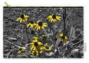 Flower Black Eyed Susan Carry-all Pouch