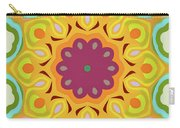 Flower Blooming Carry-all Pouch