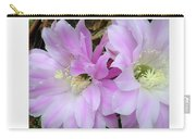 Flower Blossom Pink Carry-all Pouch