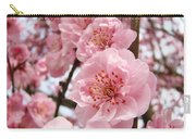 Flower Blossoms Art Spring Trees Pink Blossom Baslee Troutman Carry-all Pouch