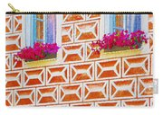 Flower Boxes In Slavonice Carry-all Pouch