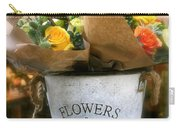 Flower Bucket Carry-all Pouch