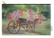 Flower Cart Carry-all Pouch