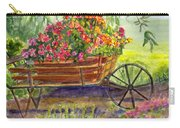 Flower Cart Carry-all Pouch
