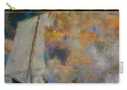 Flower Clouds Carry-all Pouch