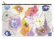 Flower Connection Carry-all Pouch