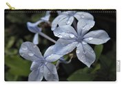 Flower Droplets Carry-all Pouch