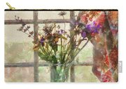 Flower - Flower - A Vase Of Flowers  Carry-all Pouch