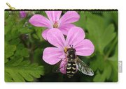 Flower Fly On Stinky Bob Carry-all Pouch