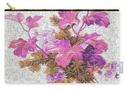 Flower Graffiti Carry-all Pouch
