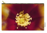 Flower Graphic Carry-all Pouch