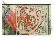 Flower-h Carry-all Pouch