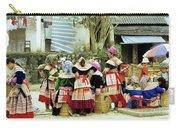 Flower Hmong Women 02 Carry-all Pouch