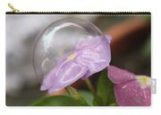 Flower In A Bubble Carry-all Pouch