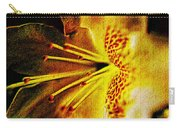 Flower In Abstraction Art Carry-all Pouch