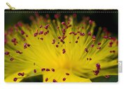 Flower In Macro Carry-all Pouch
