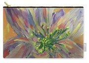 Flower In Morning Light Carry-all Pouch