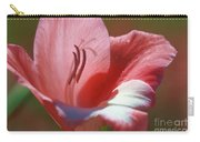 Flower In Pink Pastel Carry-all Pouch