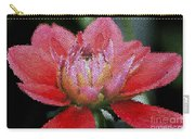 Flower In Stain Glass Carry-all Pouch