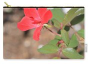 Flower In The Garden Carry-all Pouch