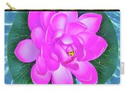 Flower In The Pool Carry-all Pouch