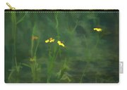 Flower In The Stream - Digital Art Carry-all Pouch