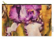 Flower - Iris - Diafragma Violeta Carry-all Pouch