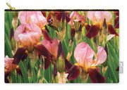 Flower - Iris - Gy Morrison Carry-all Pouch