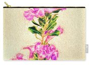 Flower-j Carry-all Pouch