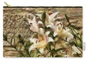 Flower - Lily - White Lily Carry-all Pouch