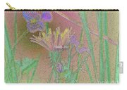 Flower Meadow Line Carry-all Pouch