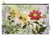 Flower-n Carry-all Pouch