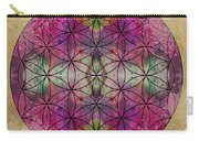 Flower Of Life Carry-all Pouch by Filippo B
