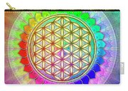 Flower Of Live - Rainbow Lotus 2 Carry-all Pouch