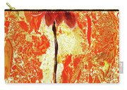 Flower On Sun Carry-all Pouch