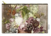 Flower Painting Carry-all Pouch